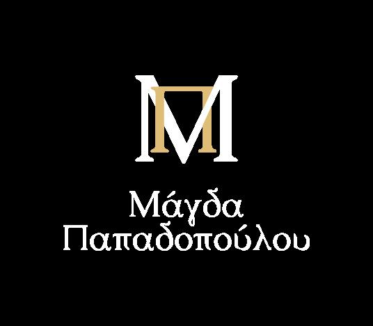 λογότυπο με λευκά γράμματα